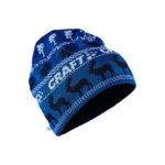 Retro knit hat burst