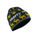 Retro knit hat pine buzz